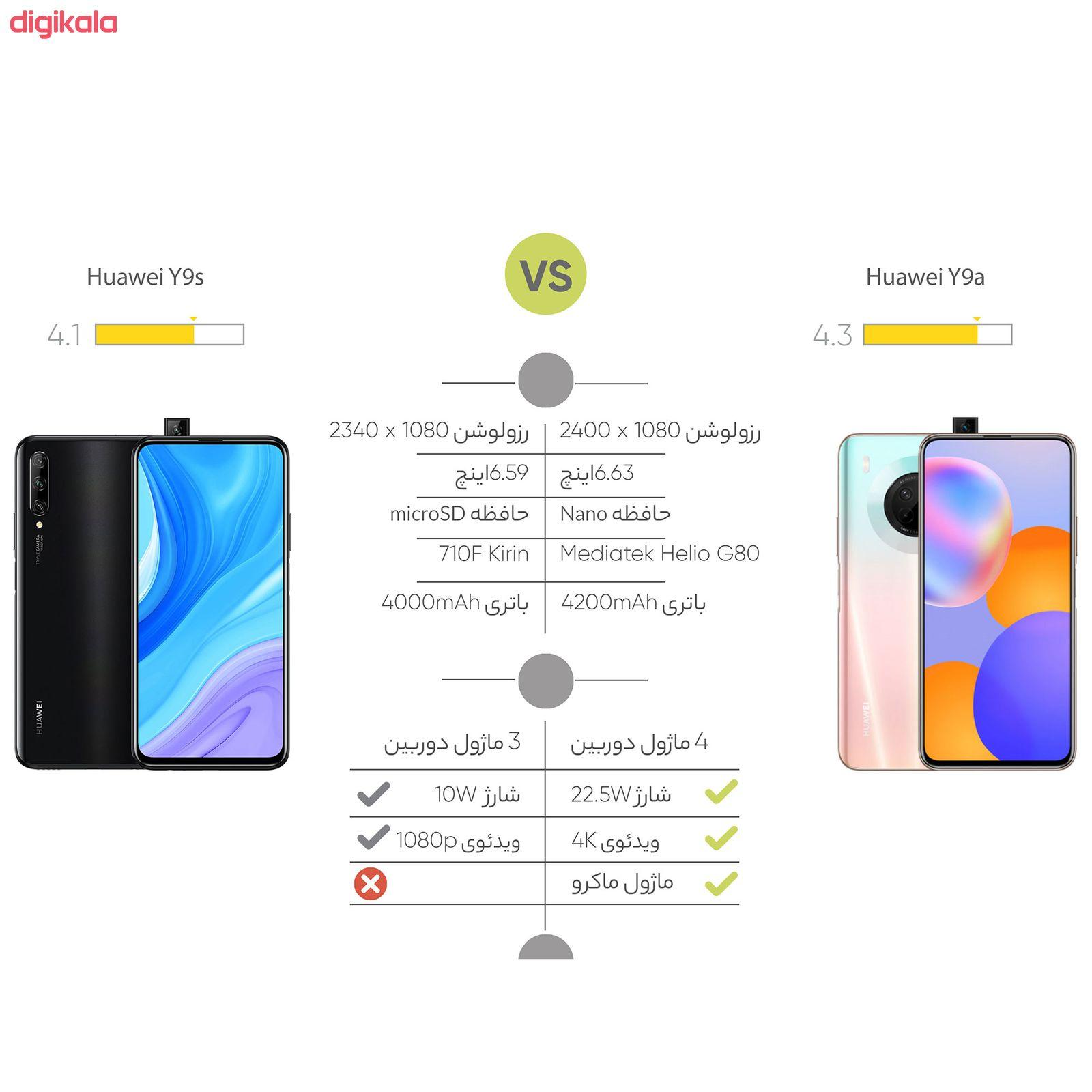 گوشی موبایل هوآوی مدل Y9a FRL-L22 دو سیم کارت ظرفیت 128 گیگابایت main 1 12