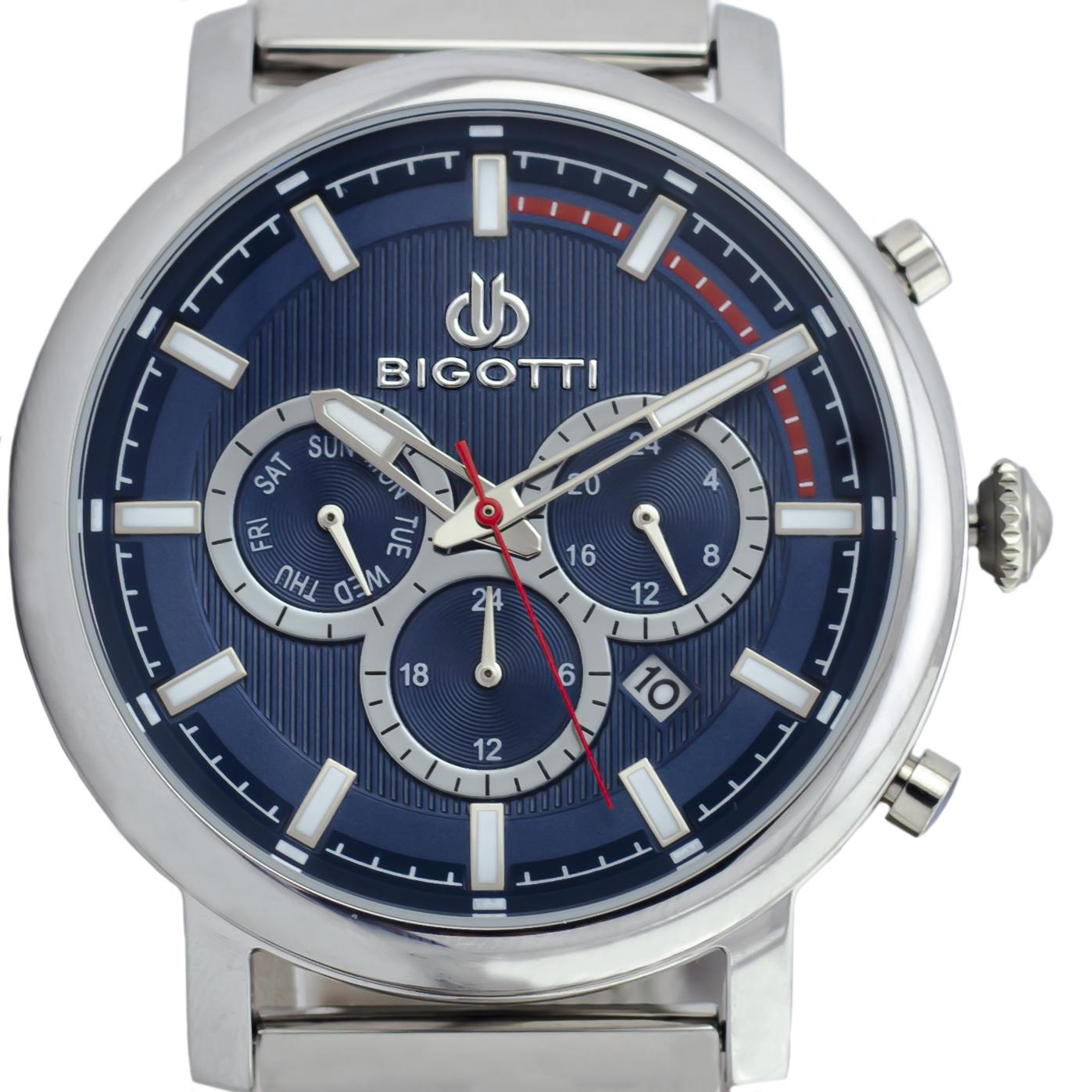 ساعت مچی عقربهای مردانه بیگوتی مدل 2-BG10140