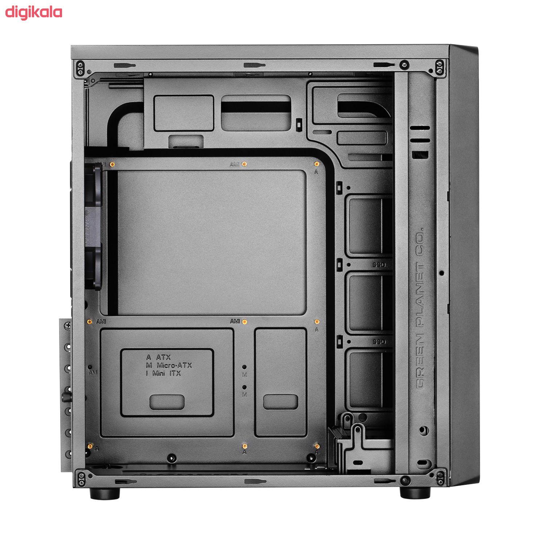 کیس کامپیوتر گرین مدل AVA Plus main 1 7