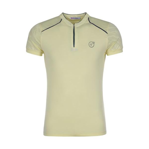 تی شرت ورزشی زنانه هالیدی مدل 808604-LEMON