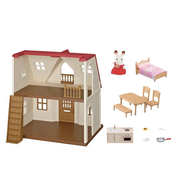 اسباب بازی سیلوانیان فامیلیز مدل کلبه کوچک کد 5303