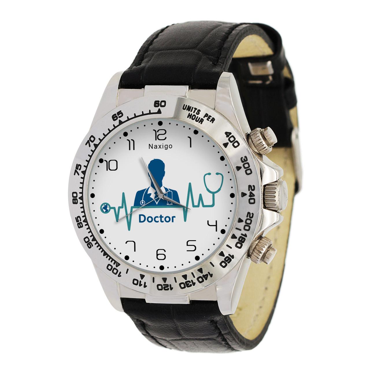 ساعت مچی  مردانه ناکسیگو طرح پزشک کد LS3529