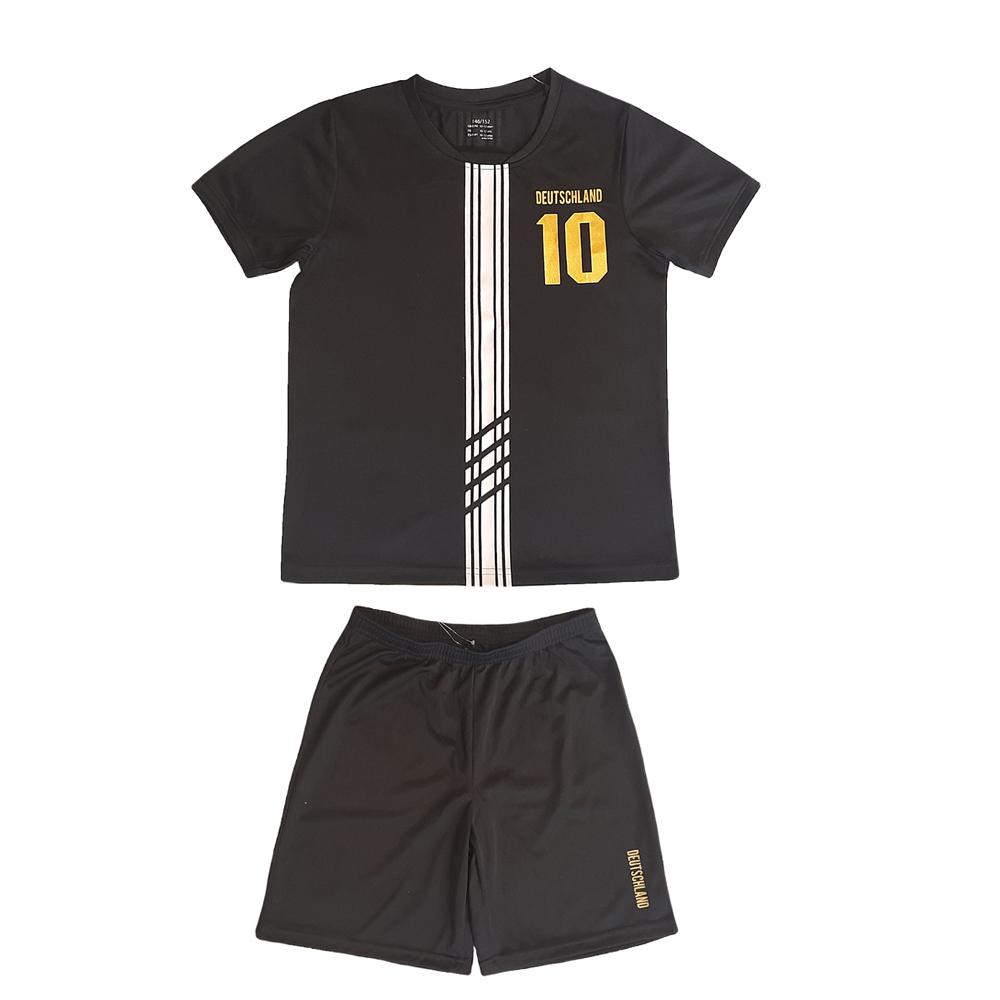ست تی شرت و شلوارک ورزشی پسرانه مدل Z-S42