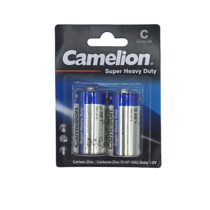 باتری C کملیون مدل R14P-BP2P بسته 2 عددی