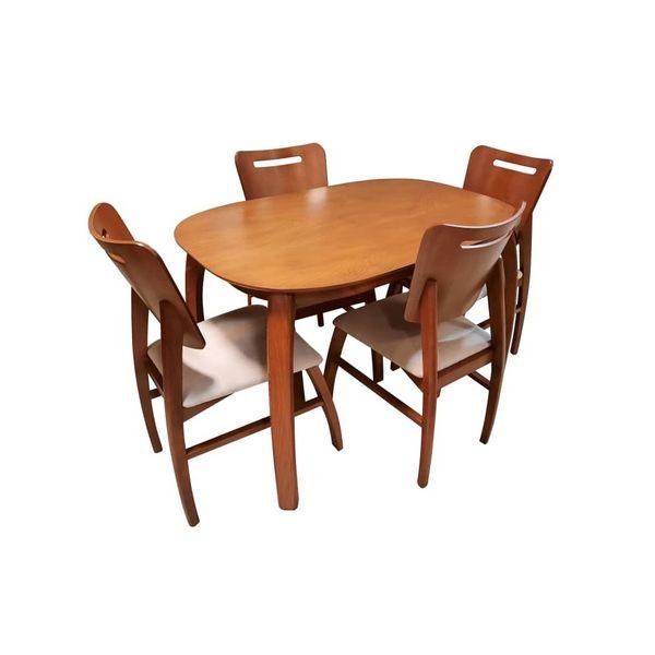 میز و صندلی ناهارخوری مدل دنیز