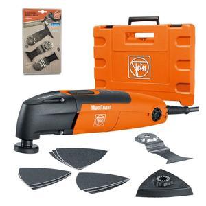 مجموعه ابزار چندکاره فاین مدل FMT 250 SL به همراه تیغه چوب و فلز