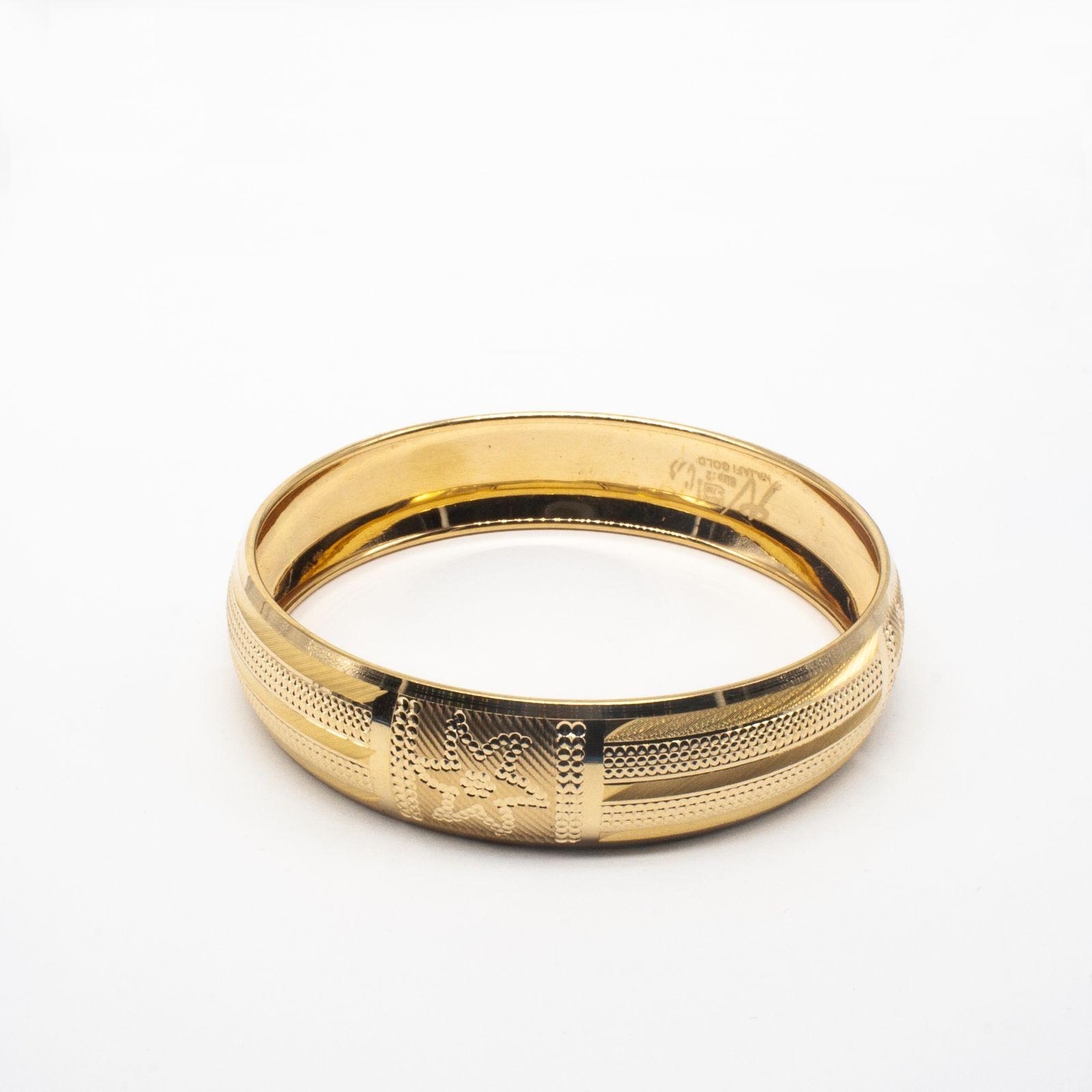 النگو طلا ۱۸ عیار زنانه دُرج مدل VB06-4 thumb 2 1