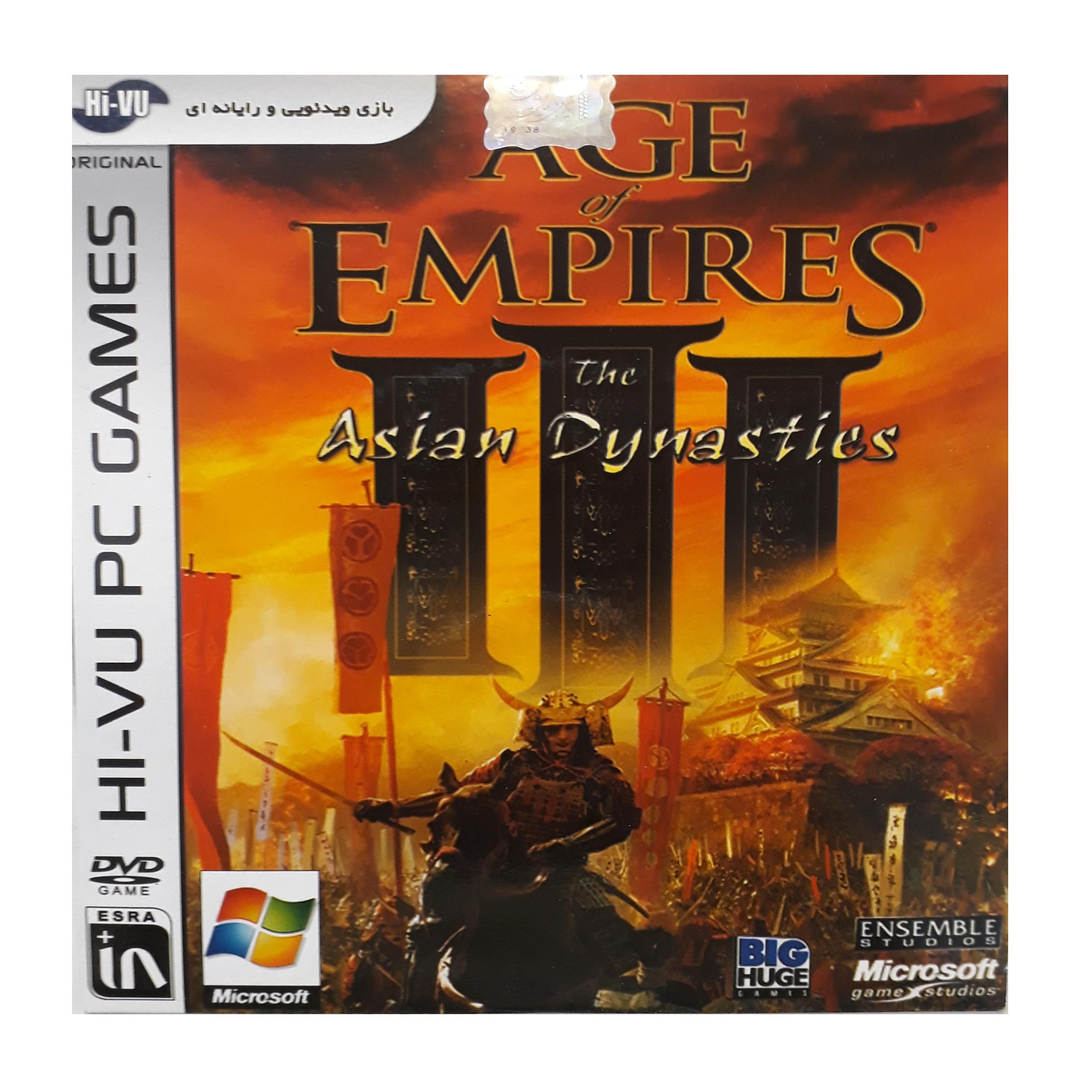 بازی age of empires III مخصوص pc