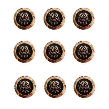 دکمه مدل رز کد R_TO24 بسته 9 عددی