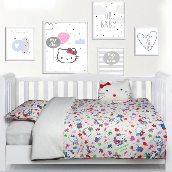 سرویس خواب 5 تکه کودک مدل هلو کیتی