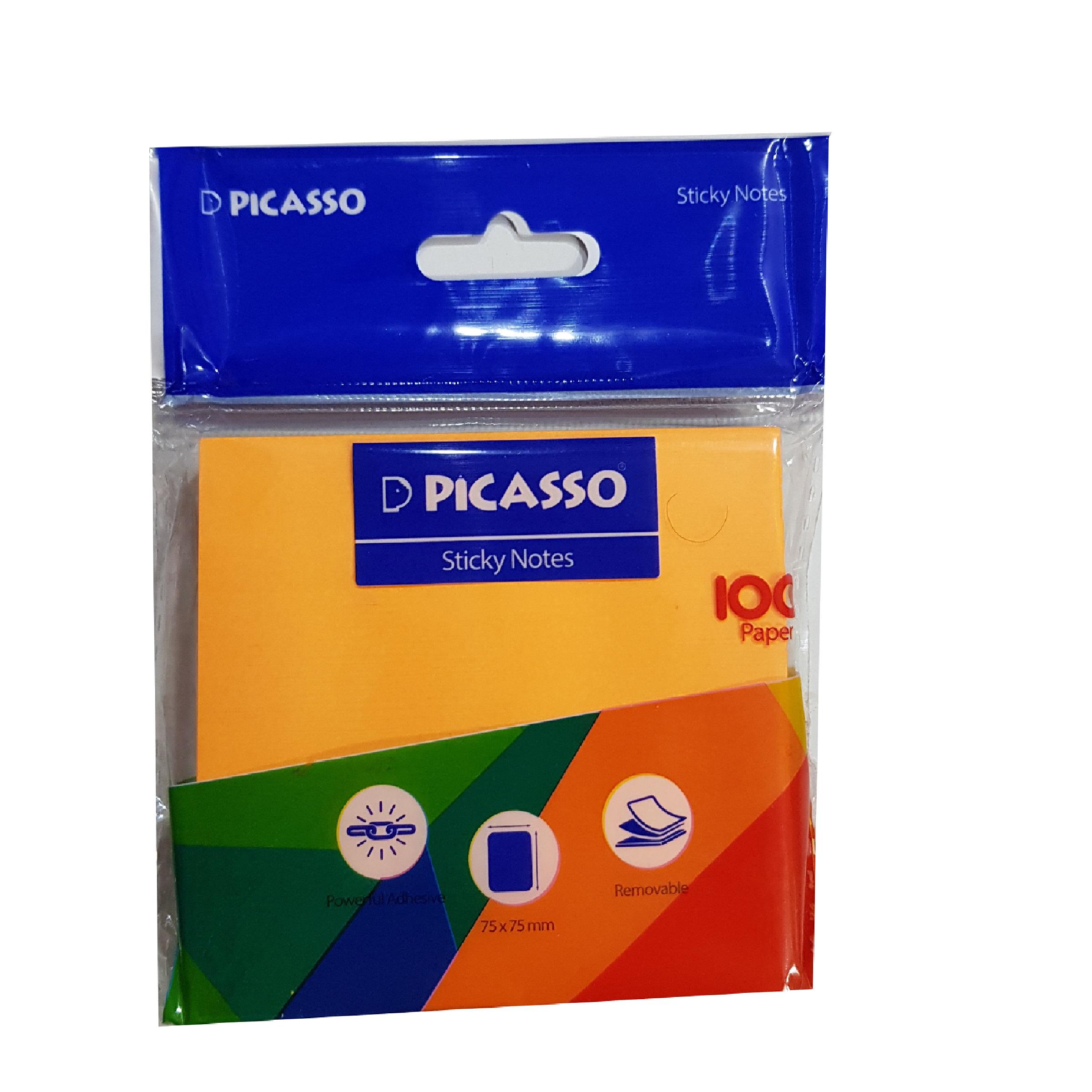 کاغذ یادداشت چسب دار پیکاسو مدل 75 main 1 1