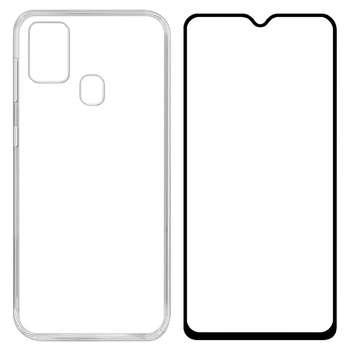 کاور مدل BLKN مناسب برای گوشی موبایل سامسونگ Galaxy M31 به همراه محافظ صفحه نمایش