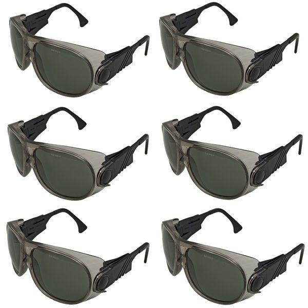 عینک ایمنی مدل E692 مجموعه 6 عددی