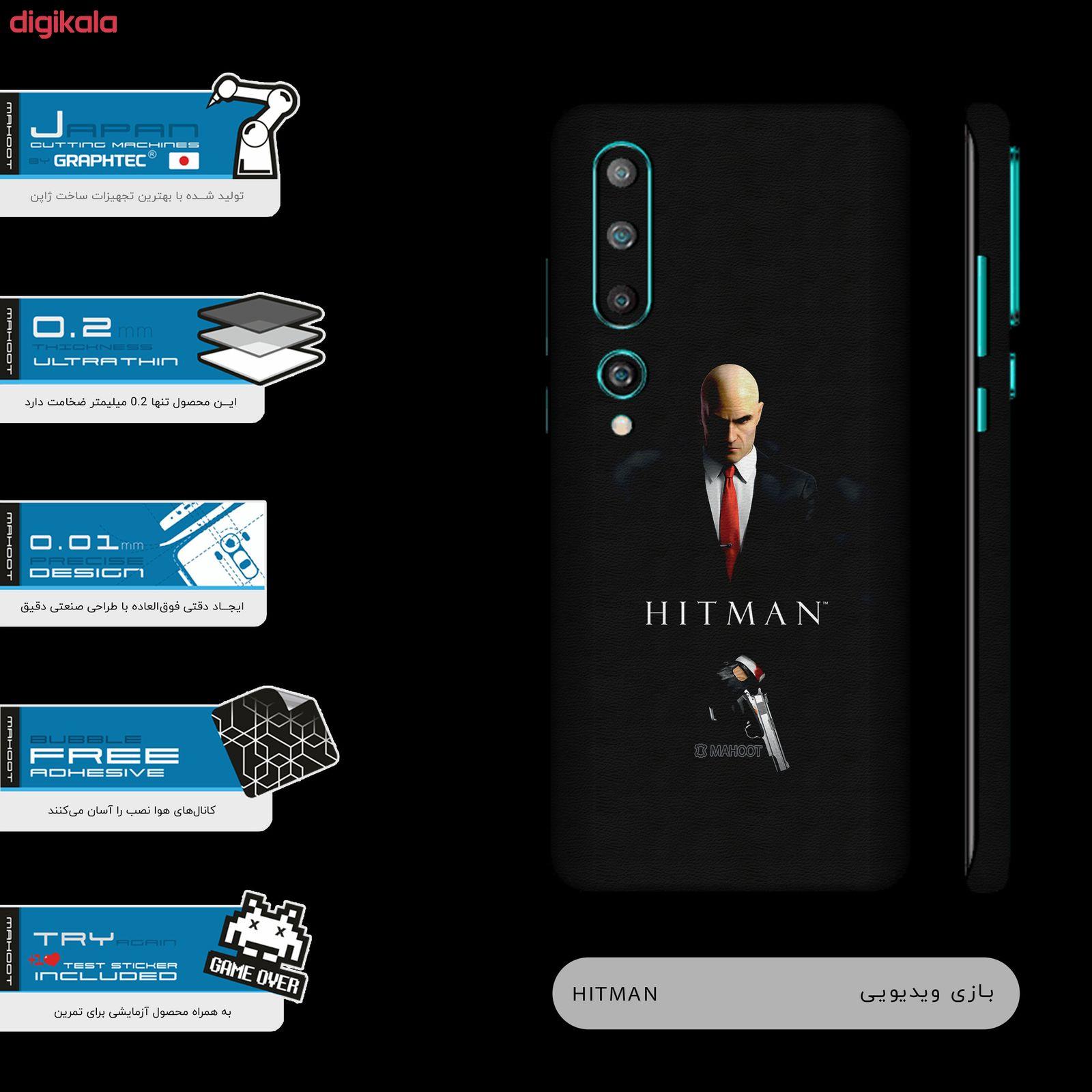 برچسب پوششی ماهوت مدل HITMAN-Game-FullSkin  مناسب برای گوشی موبایل شیائومی  MI 10