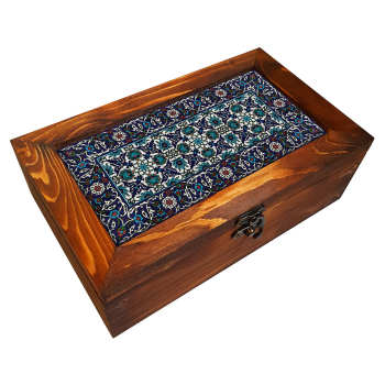 جعبه هدیه چوبی مدل      BG89