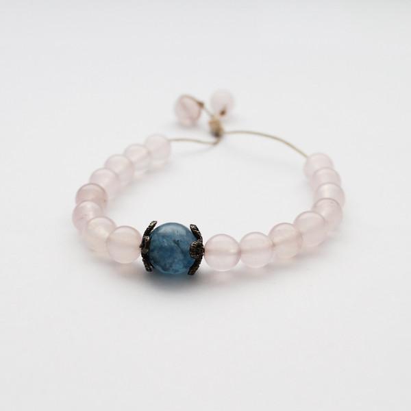 دستبند زنانه طب سنگ کد 5