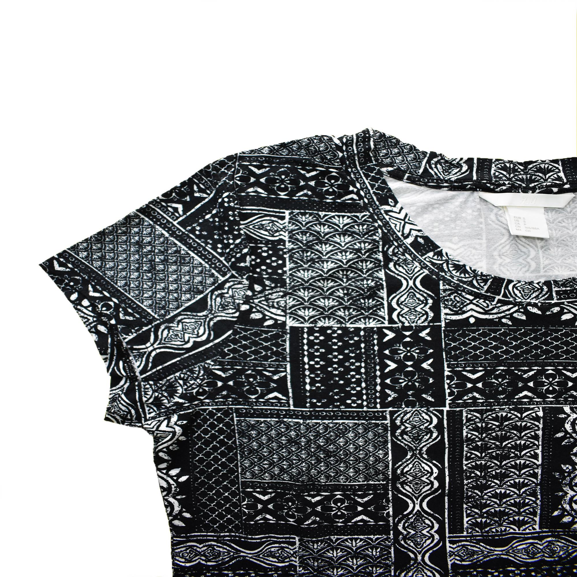 تی شرت زنانه اچ اند ام مدل h1058 main 1 1