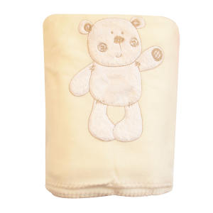 پتو نوزاد لیبون طرح خرس کد 2105.1 سایز 100×140 سانتی متر