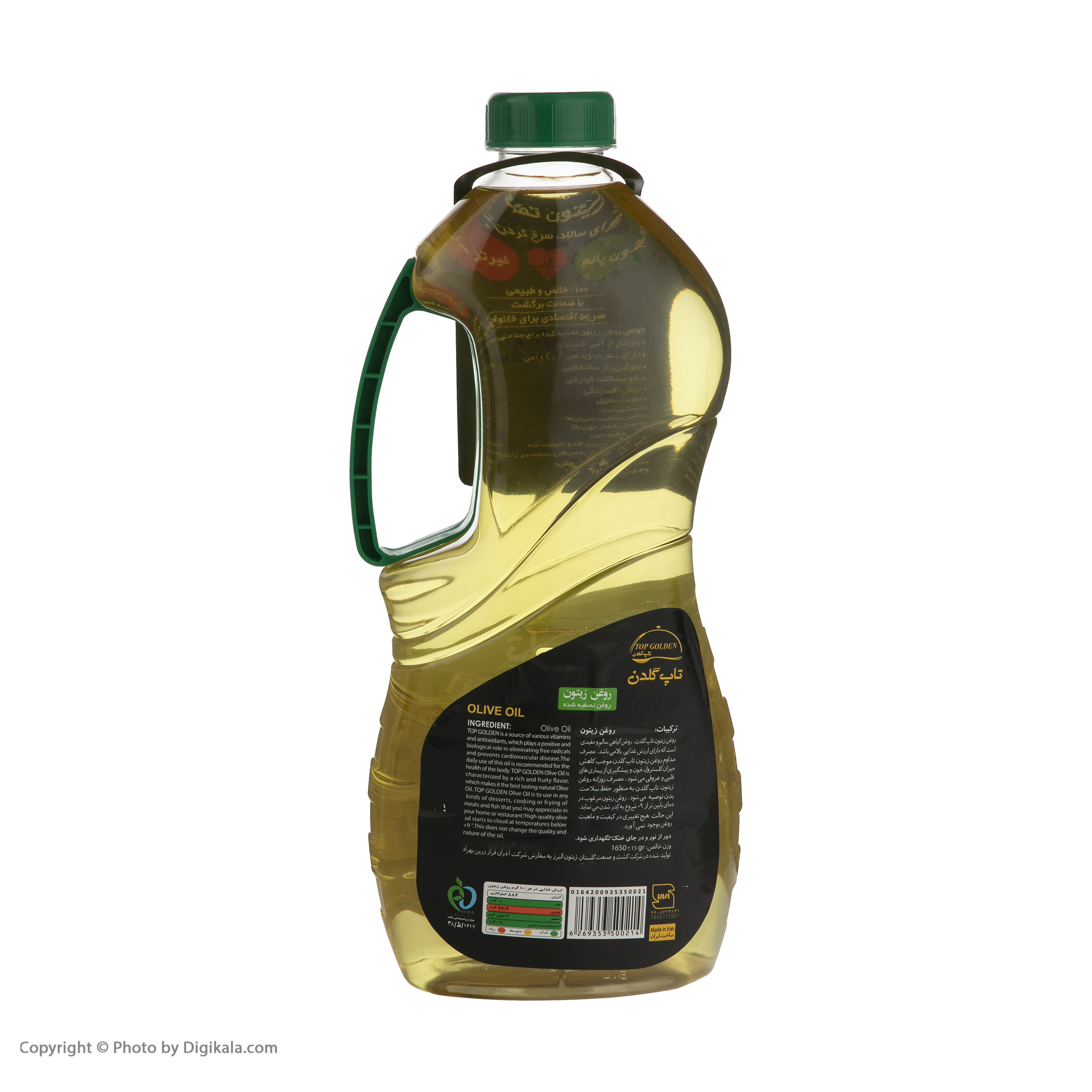 روغن زیتون تاپ گلدن - .1.8 لیتر