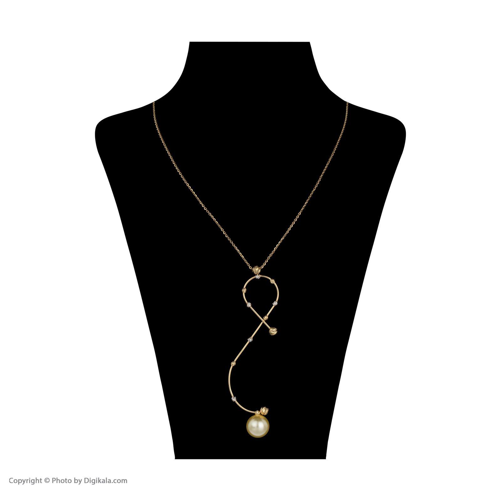 گردنبند طلا 18 عیار زنانه سیودو مدل 146856 -  - 3