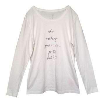 تی شرت آستین بلند زنانه اسمارا مدل IAN 302281