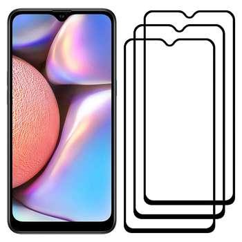 محافظ صفحه نمایش مدل FCG مناسب برای گوشی موبایل سامسونگ Galaxy A10s بسته سه عددی