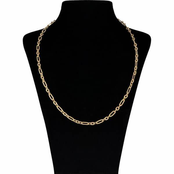 زنجیر طلا 18 عیار زنانه آلند مدل BZZ5