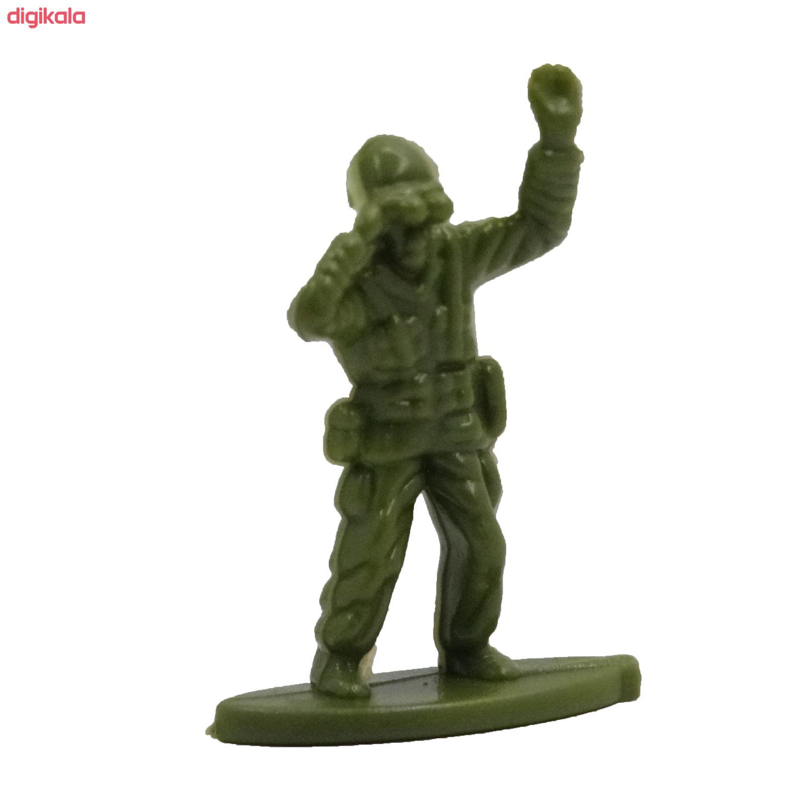 اسباب بازی جنگی مدل پادگان مجموعه 23 عددی main 1 21