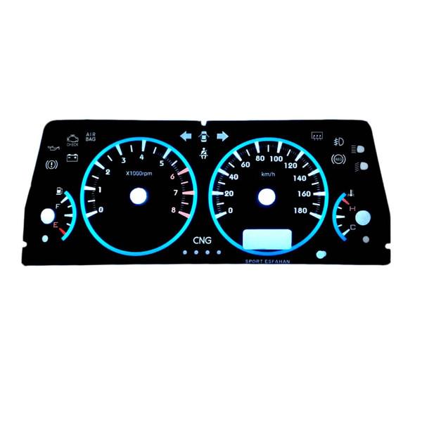 صفحه کیلومتر خودرو مدل 9000 مناسب برای پراید صبا