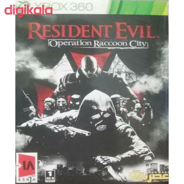 بازی RESIDENT EVIL OPERATION RACCOON CITY مخصوص Xbox 360 main 1 1