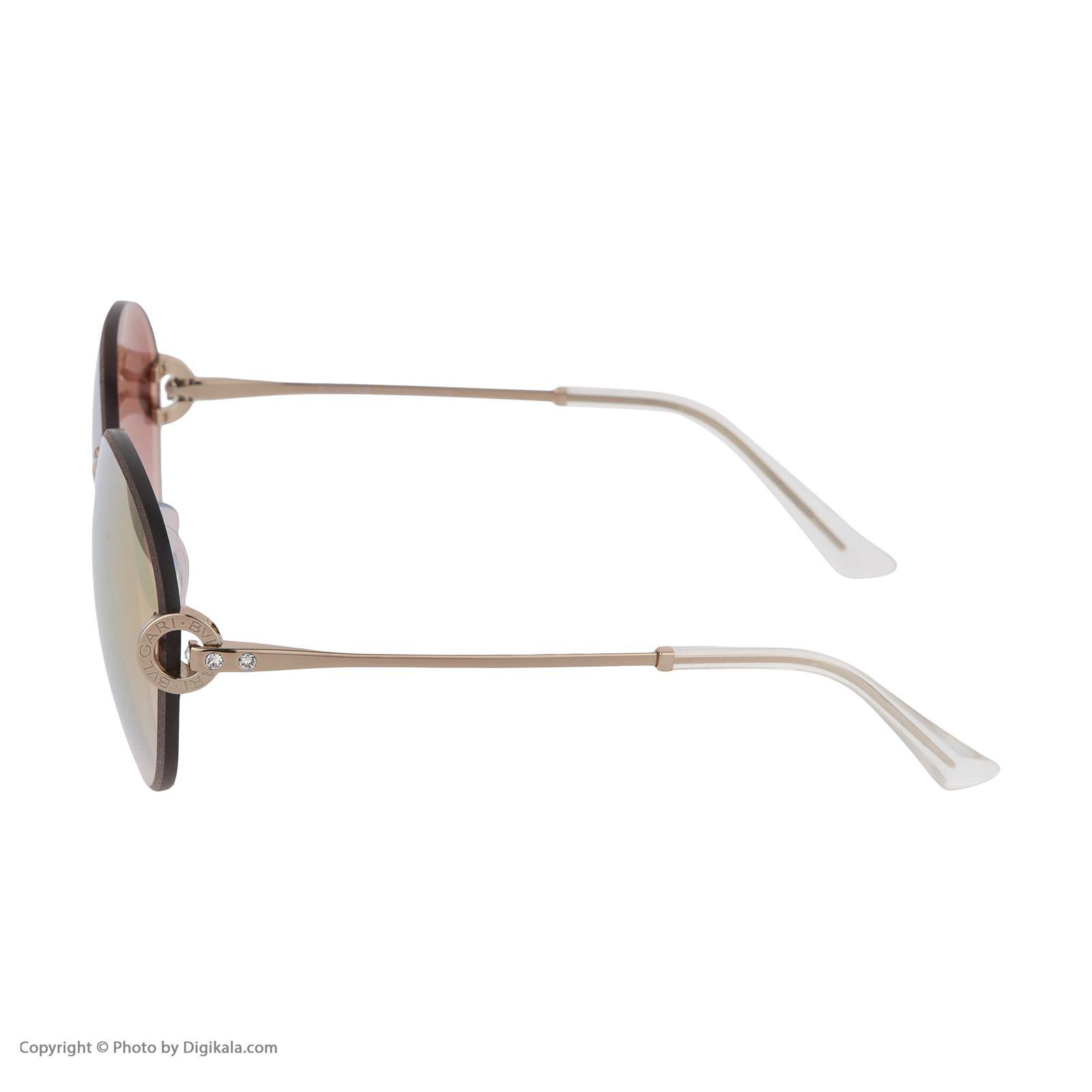 عینک آفتابی زنانه بولگاری مدل BV6091B 20146F -  - 6