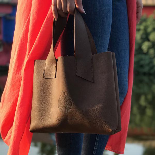 کیف دستی زنانه انارلدر مدل کارولی