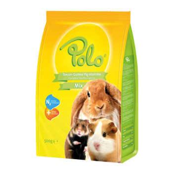 غذای خرگوش و خوکچه هندی پولو مدل Mix وزن 500 گرم