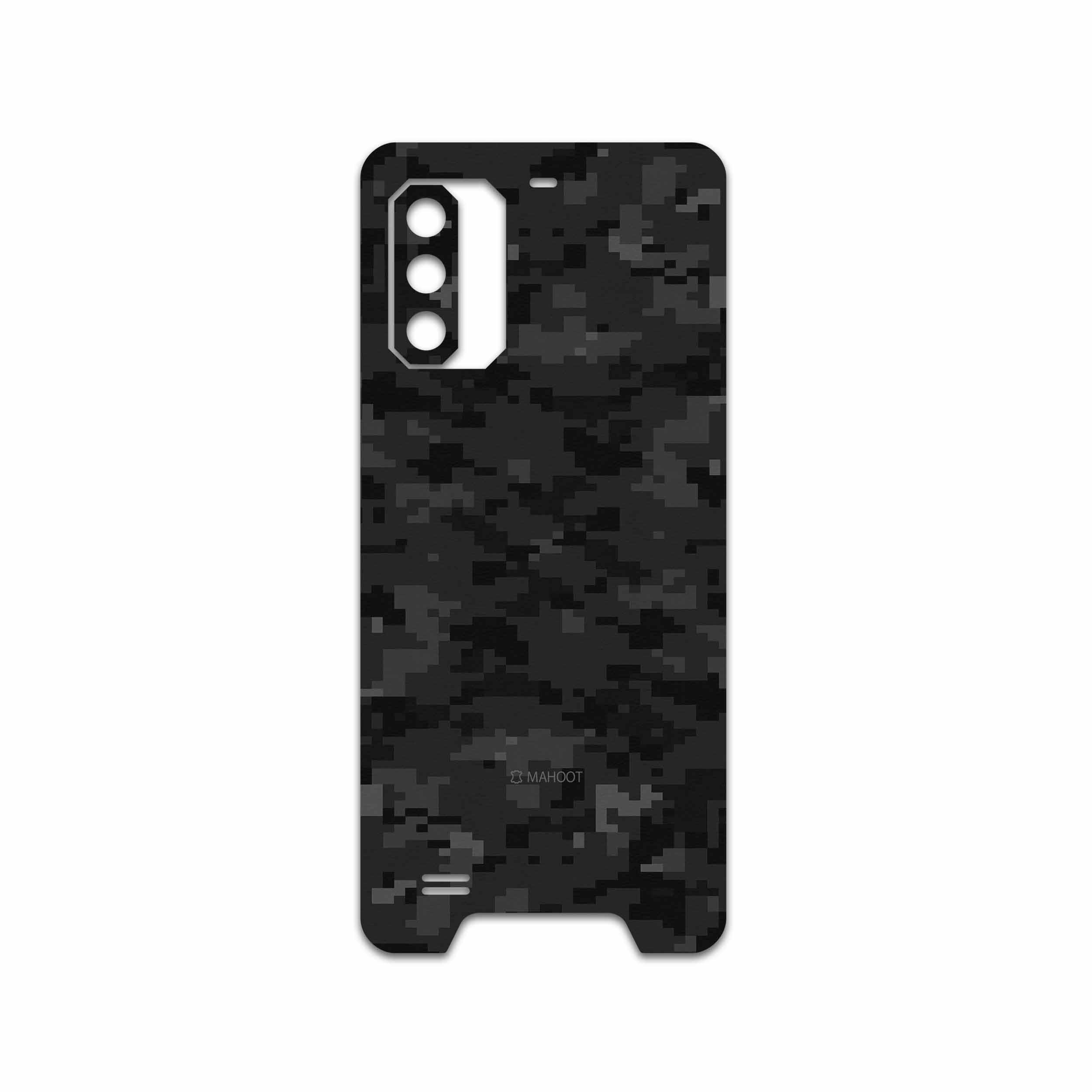 برچسب پوششی ماهوت مدل Night-Army-Pixel مناسب برای گوشی موبایل یولفون Armor 7