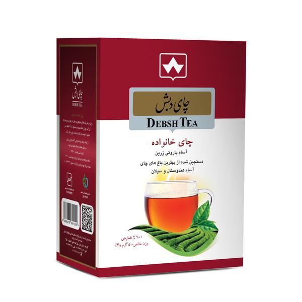 چای سیاه خانواده چای دبش - 500 گرم