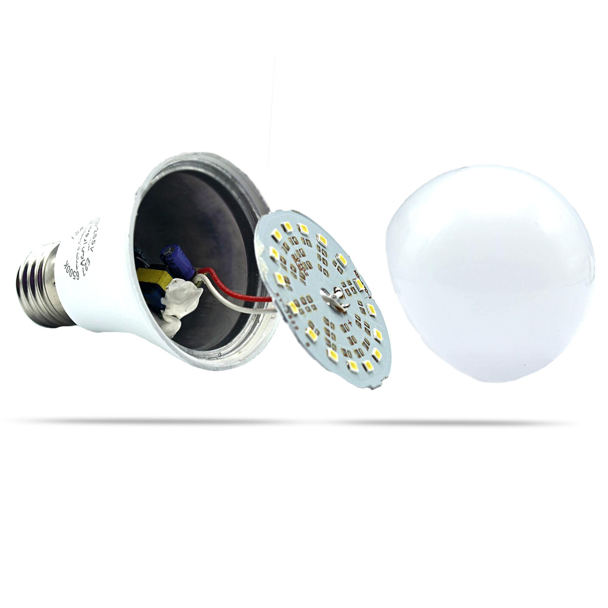 لامپ 20 وات پارس اروند الکتریک کد PA-AB20W پایه E27 بسته 5 عددی