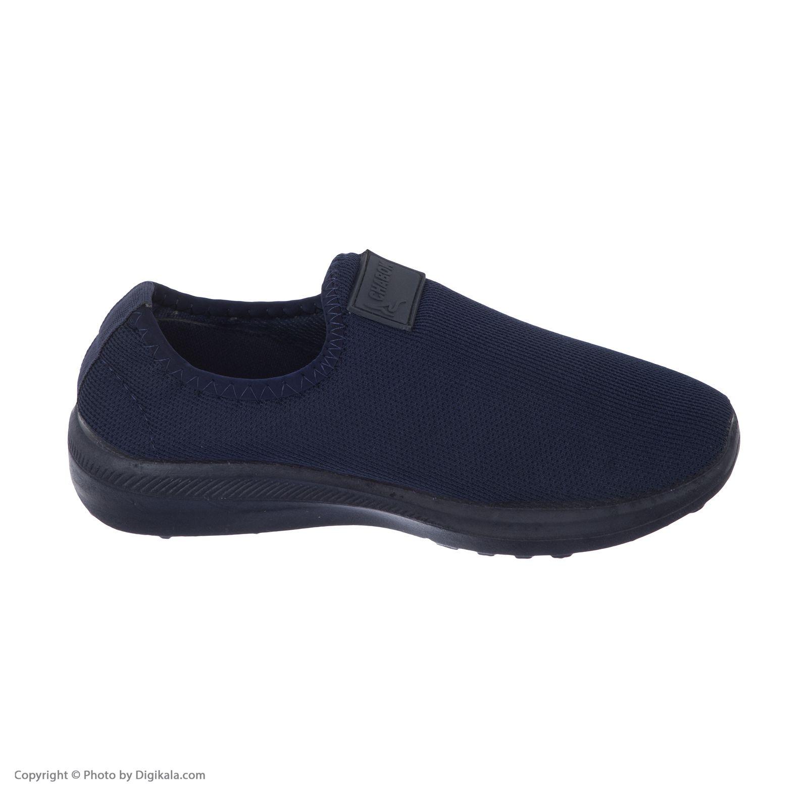 کفش راحتی چابک مدل رامش رنگ سرمه ای -  - 5