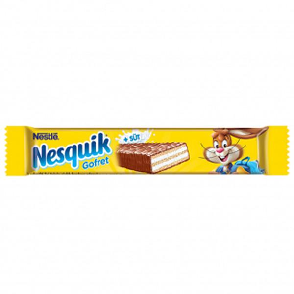 ویفر شیری شکلاتی نسکوئیک نستله - 26.7 گرم