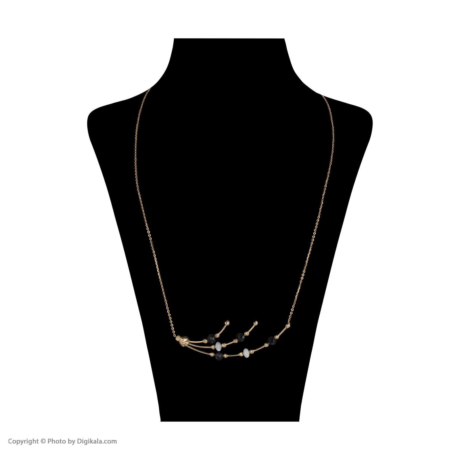 گردنبند طلا 18 عیار زنانه سیودو مدل 146427 -  - 3