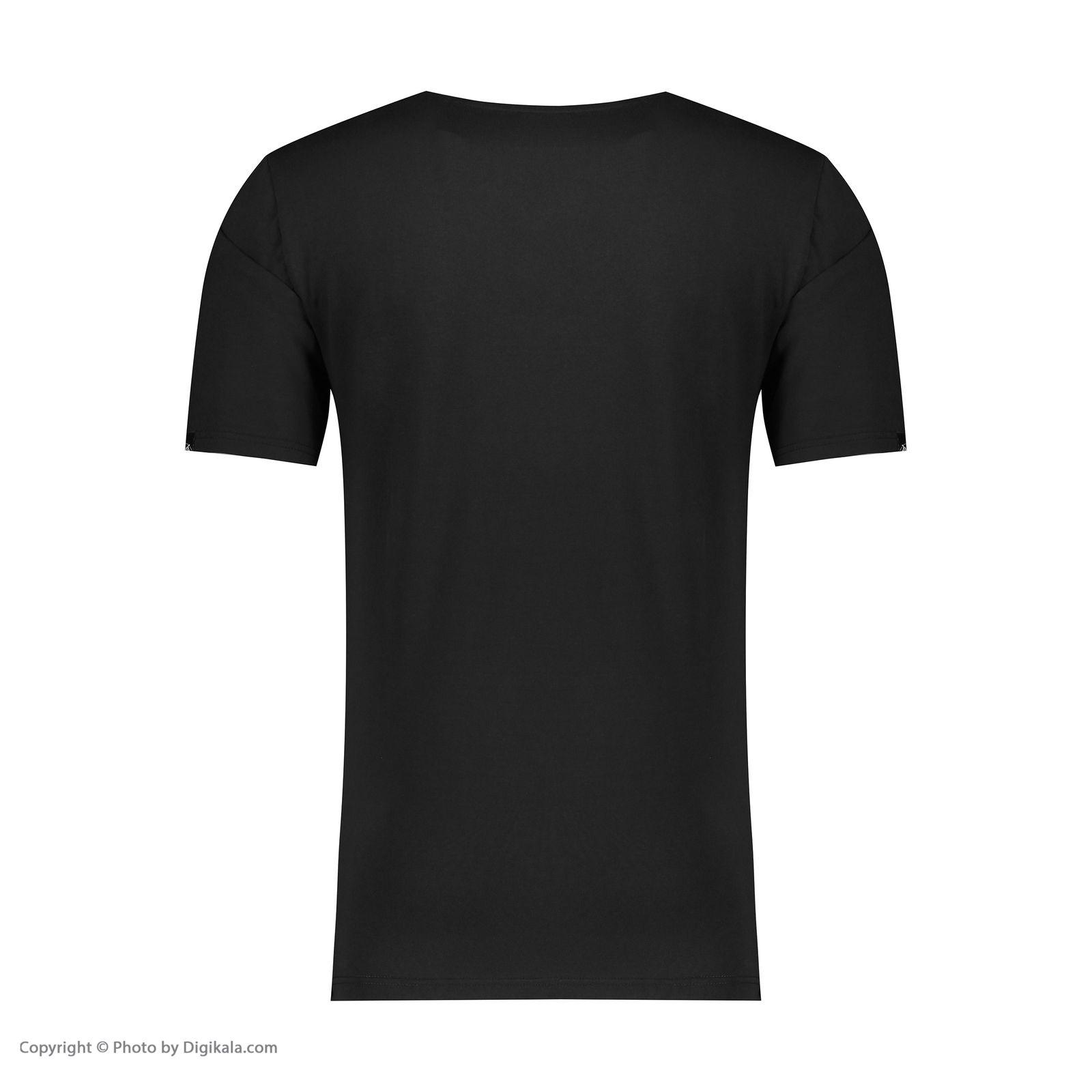 تی شرت مردانه پاتن جامه مدل 99M5224 رنگ مشکی -  - 3
