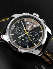 ساعت مچی عقربه ای مردانه اسکمی مدل 9106Y-NP -  - 3