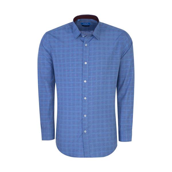 پیراهن مردانه سولا مدل SM420230030-BLUETURGUOISE