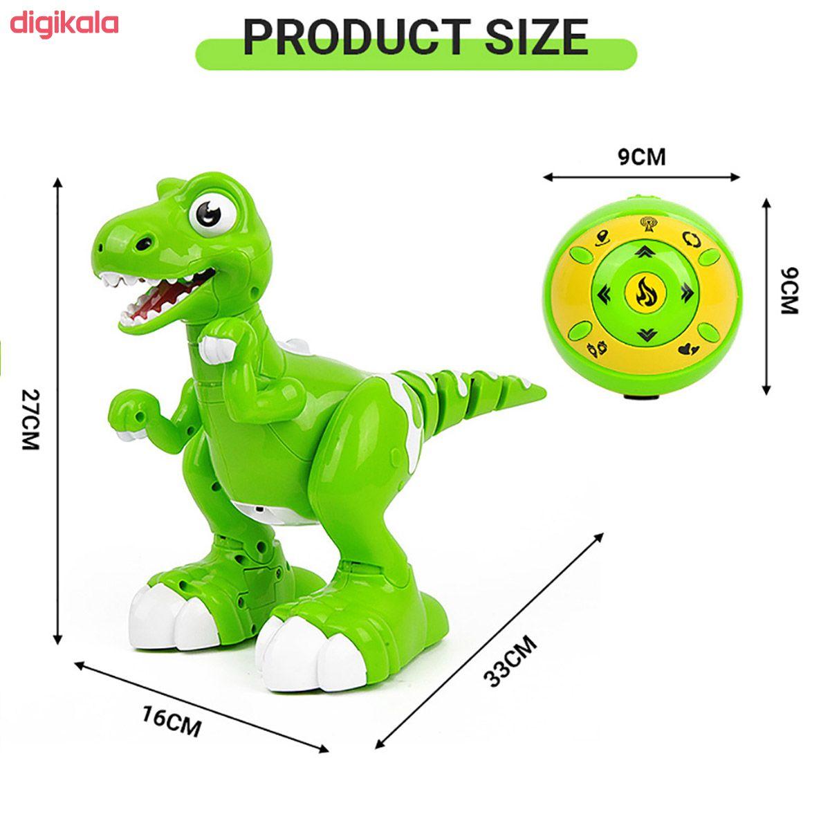 اسباب بازی طرح ربات مدل دایناسور کد 1011 main 1 7