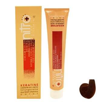 رنگ مو نیترو سری Keratine شماره L.7 حجم 100 میلی لیتر رنگ بلوند شکلاتی طبیعی