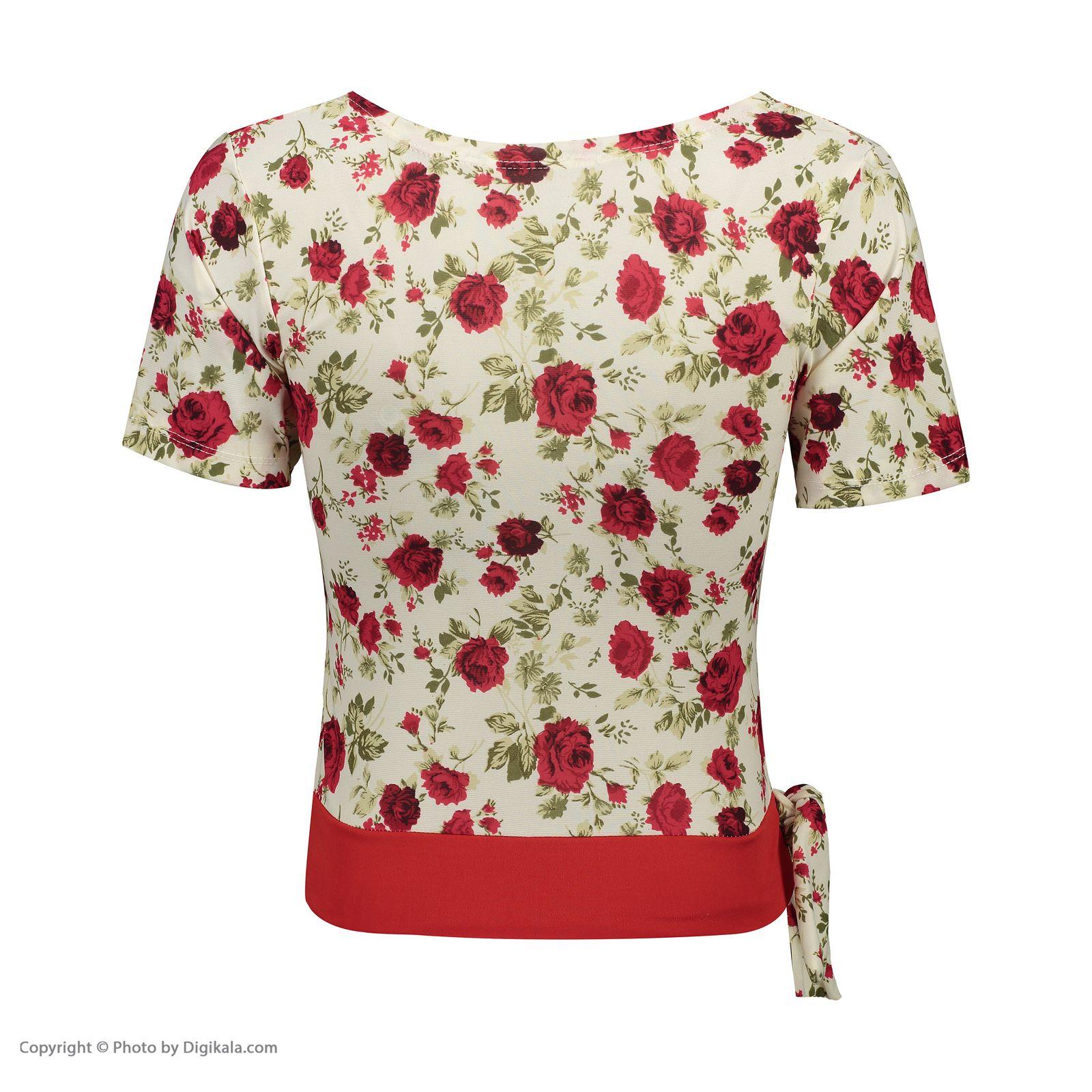 ست تی شرت و شلوارک زنانه کد 002 -  - 5