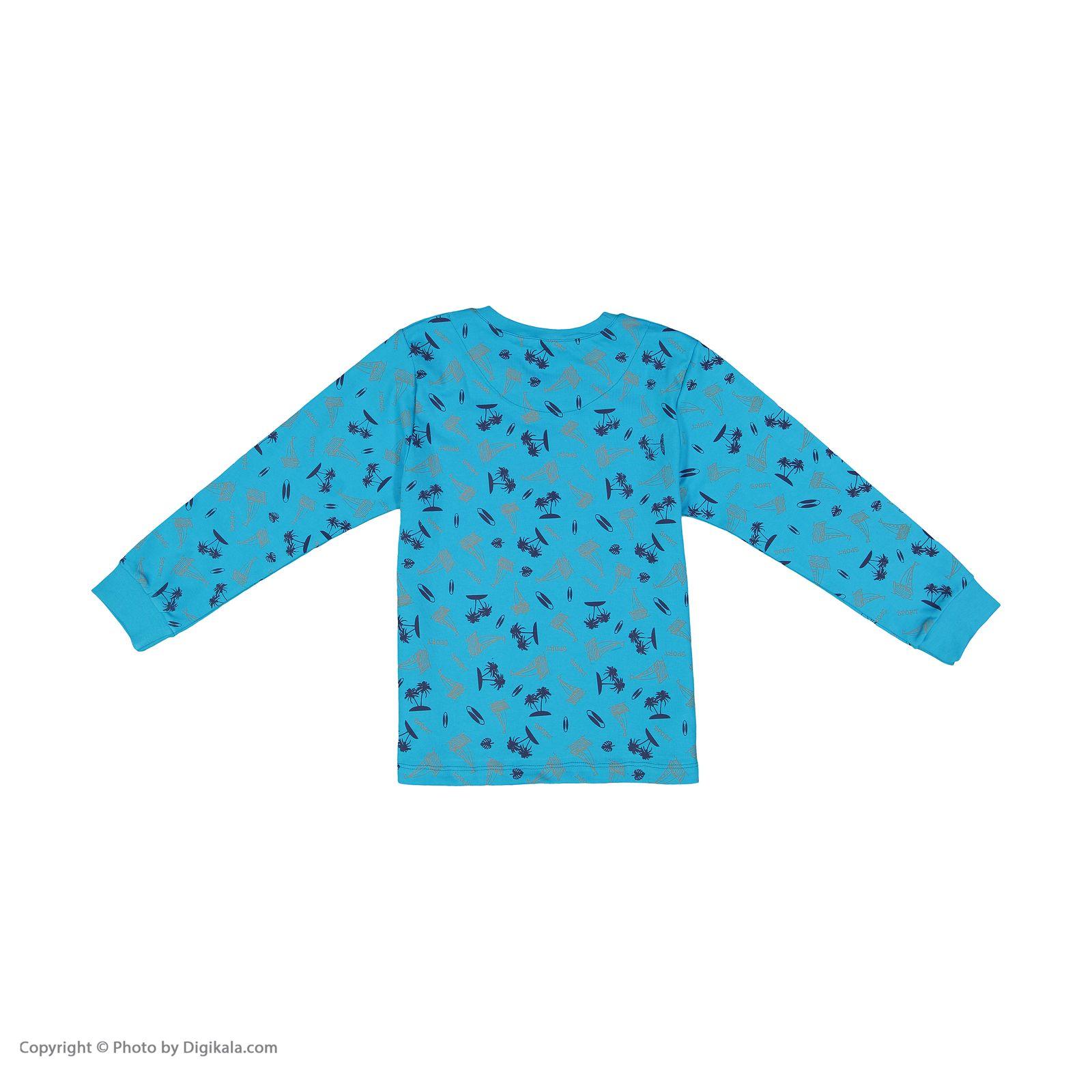 ست تی شرت و شلوار پسرانه مادر مدل 306-53 main 1 5