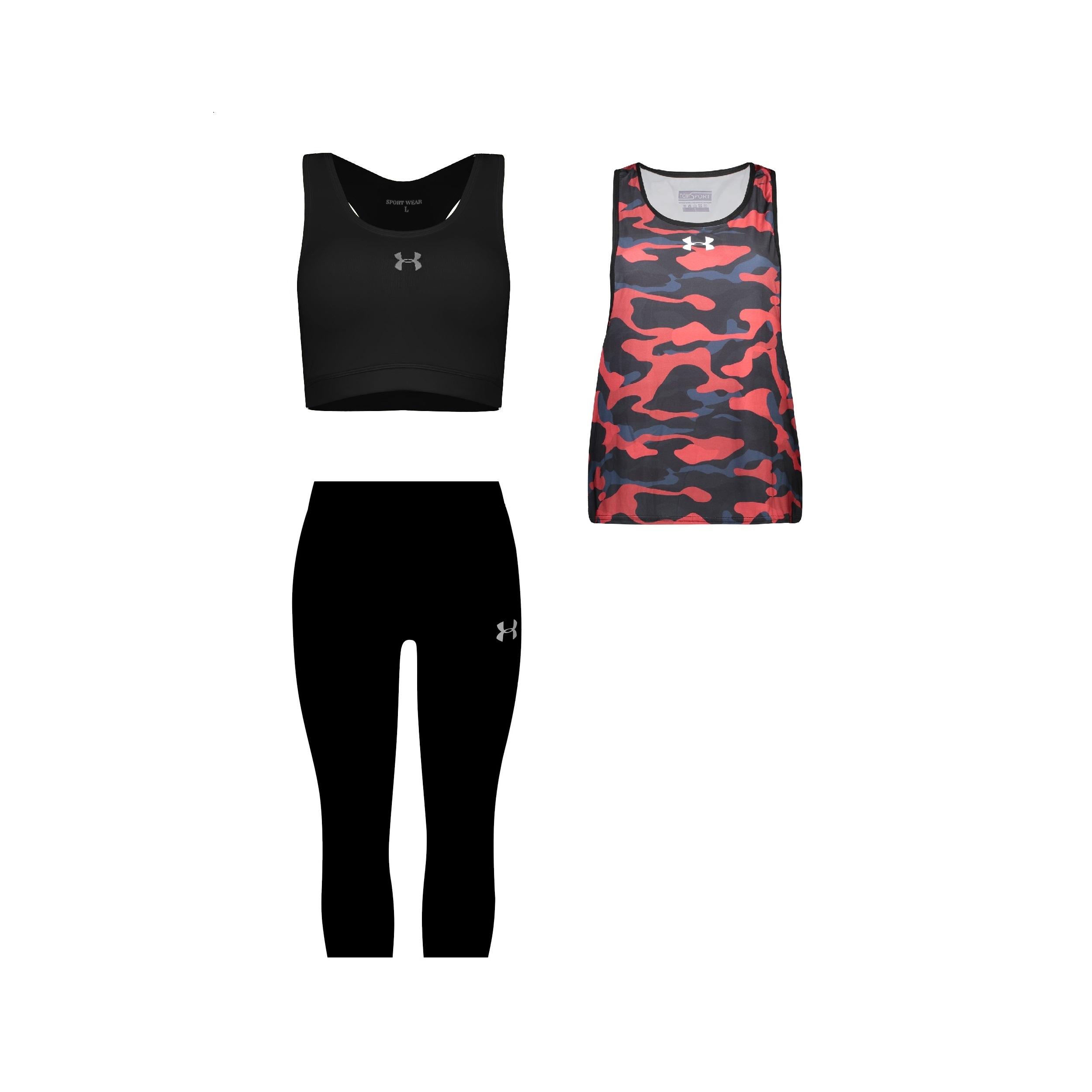 ست 3 تکه لباس ورزشی زنانه کد 580103