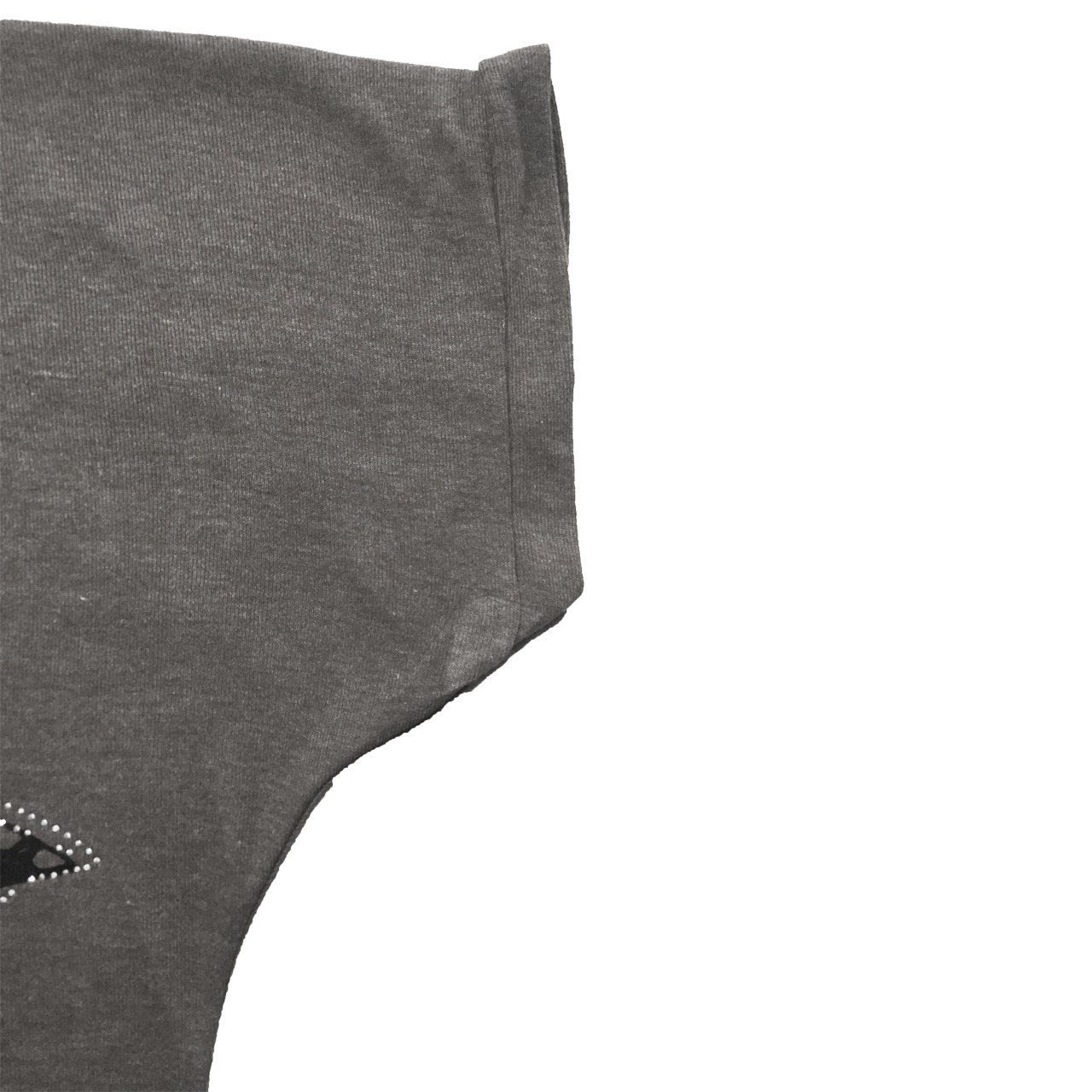 تی شرت آستین کوتاه زنانه مدل butterfly کد tms-1059 رنگ طوسی