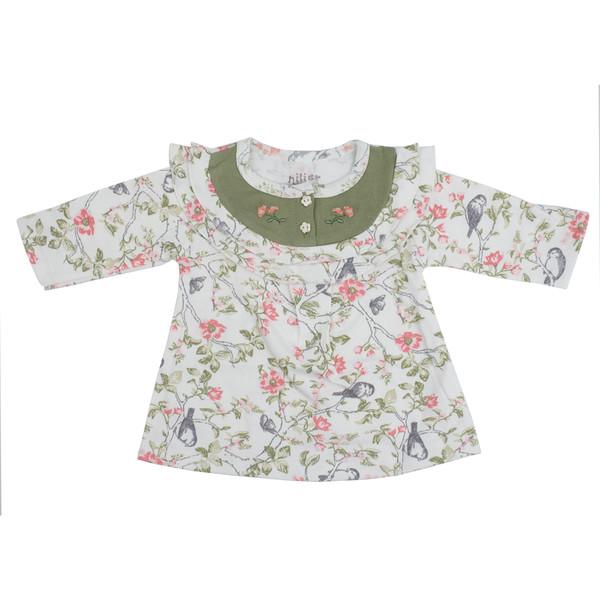 پیراهن نوزادی نیلیمدل Sparrow 433