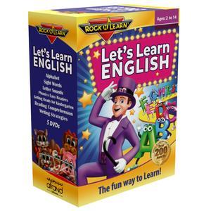 بسته آموزش زبان انگلیسی RockNLearn Lets Learn English انتشارات نرم افزاري افرند